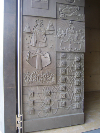 Back to the Public Art at the Cathedral of Our Lady page. & Robert Graham Cathedral Doors Los Angeles Cathedral of Our Lady