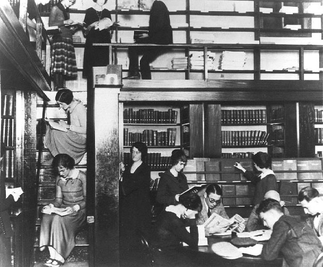 Early Library History At Usc Before Doheny Memorial Library