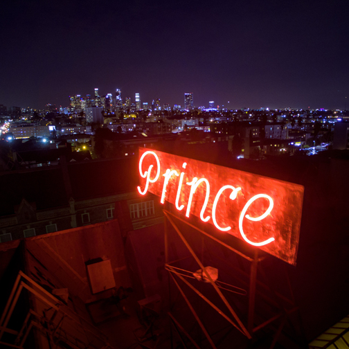 95b8109ded5 Neon Signs Los Angeles Stunning The Prince Neon Sign Neon Signs Along  Wilshire Corridor And Other